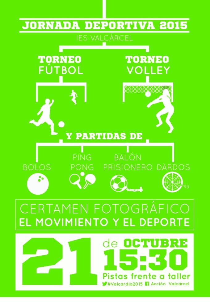 Cartel Jornadas Deportivas5Digital